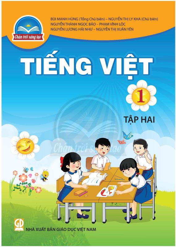 Chân Trời Sáng Tạo Tiếng Việt 1 Tập 2