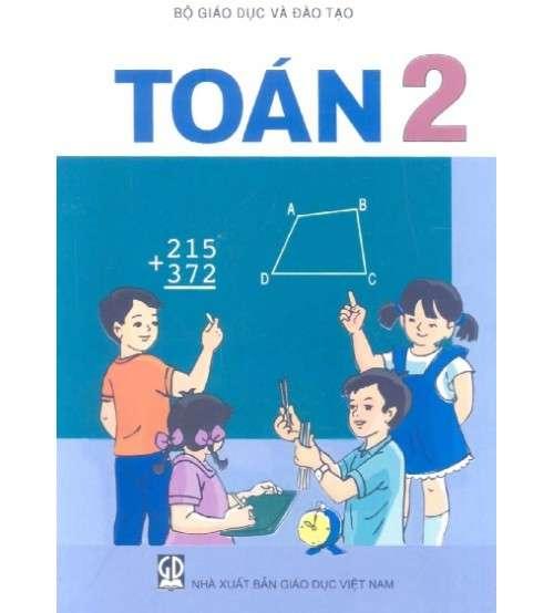 Sách giáo khoa Toán lớp 2