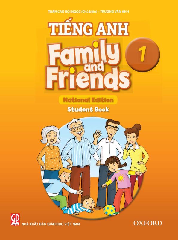 Chân Trời Sáng Tạo Tiếng Anh 1 Family and Friends, OXFORD