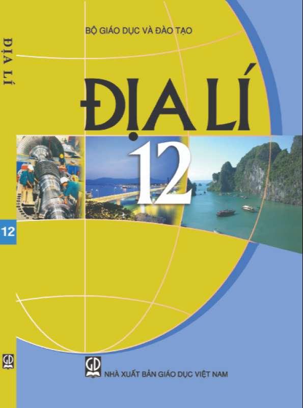 Sách Giáo Khoa Địa Lý 12