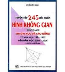 245 Bài toán Hình Không Gian chọn lọc