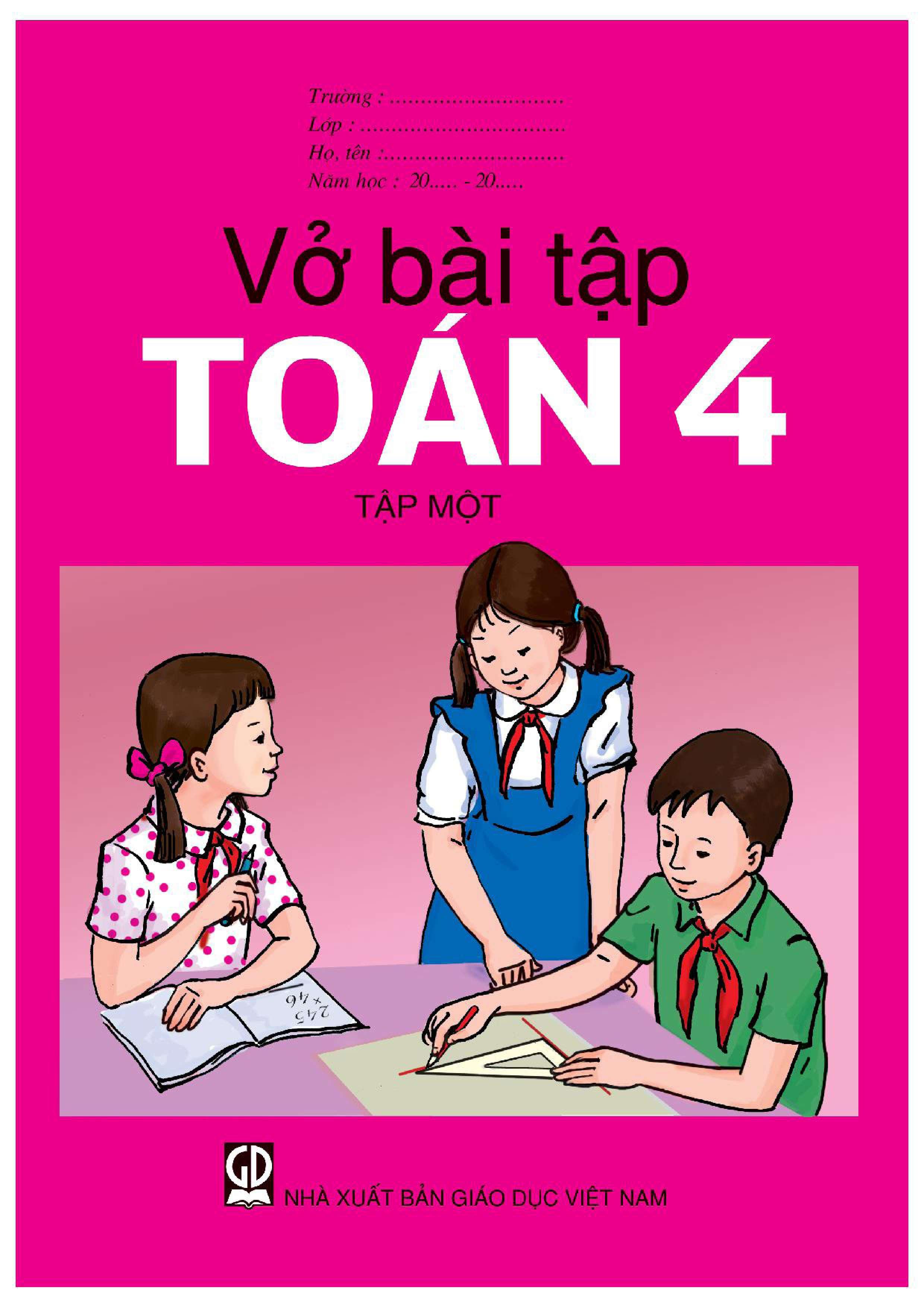 Vở bài tập Toán 4 Tập 1