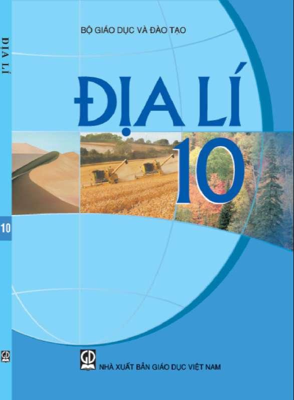 Sách Giáo Khoa Địa Lý 10