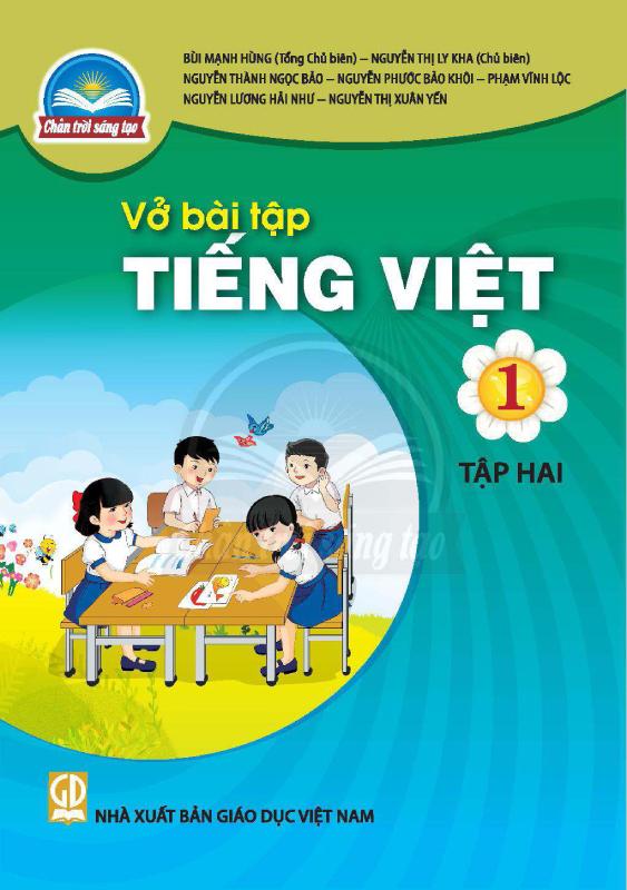 Chân Trời Sáng Tạo Vở Bài Tập Tiếng Việt 1 Tập 2