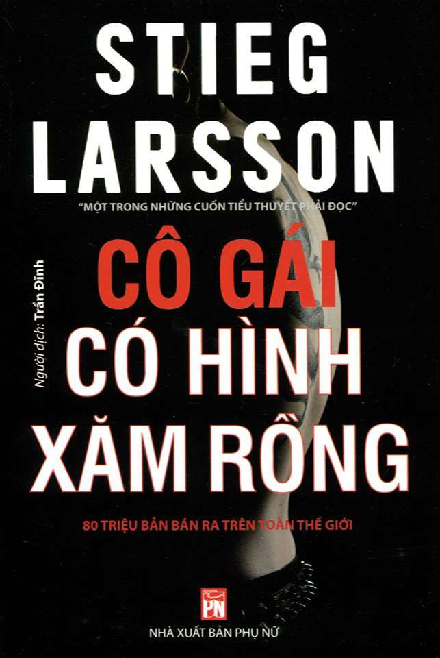 Cô Gái Có Hình Xăm Rồng - Stieg Larsson