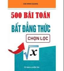 500 Bài Toán Bất đẳng thức chọn lọc