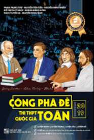 Công phá Đề thi Toán THPT Quốc gia 2019
