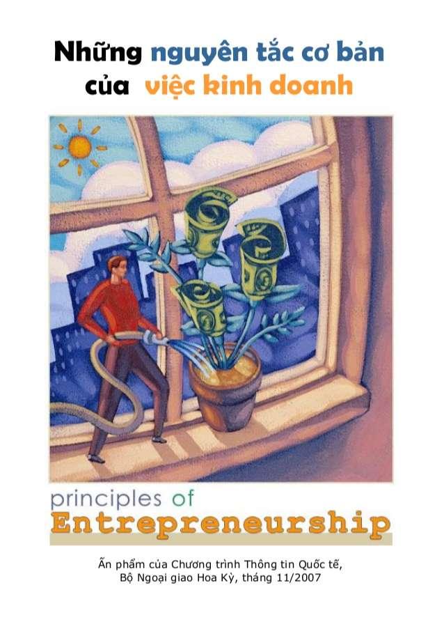 Những nguyên tắc cơ bản của việc Kinh doanh Ấn phẩm của Chương trình Thông tin Quốc tế