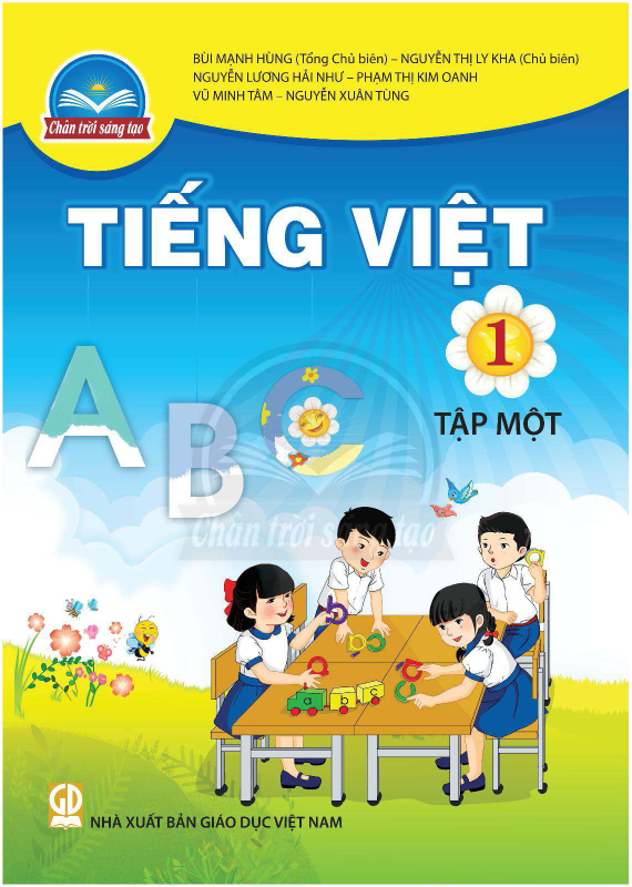 Chân Trời Sáng Tạo Tiếng Việt 1 Tập 1
